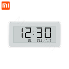 ใหม่ Xiaomi Mijia BT4.0 ไร้สายสมาร์ทดิจิตอลในร่มกลางแจ้งเครื่องวัดความชื้น Therometer นาฬิกาวัดชุดเครื่องมือ