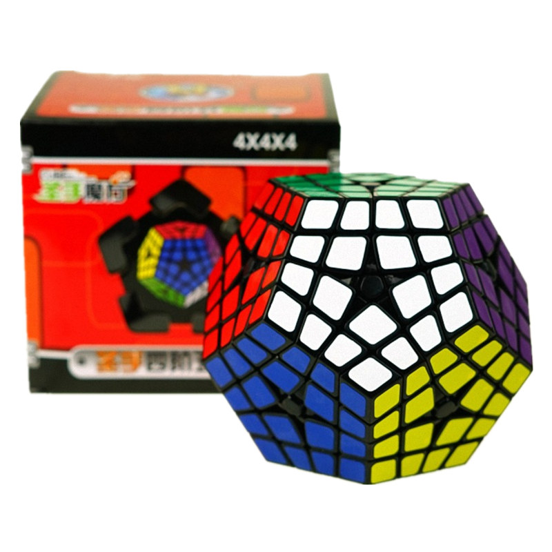 4x4 Cube de megaminx Maître Kilominx Noir Vitesse Cube Cubo Magie jouet éducatif Apprentissage et Éducatifs Cubo magico Jouet livraison directe
