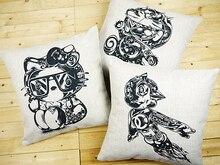 Hello Kitty pillow cover, Doraemon pillow case, cartoon Astro Boy Hello Kitty throw pillow case pillowcase Wholesale