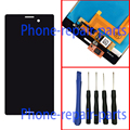 Black Full LCD Display + Digitizer Touch Screen Glass Assembly For Sony Xperia M4 Aqua E2303 E2306 E2312 E2333 E2353 E2363