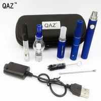 QAZ 4 in 1 Kruiden Vaporizer elektronische sigaret mod kit met verstuiver wax droog kruid Vape Pen vapor ingebouwde Batterij