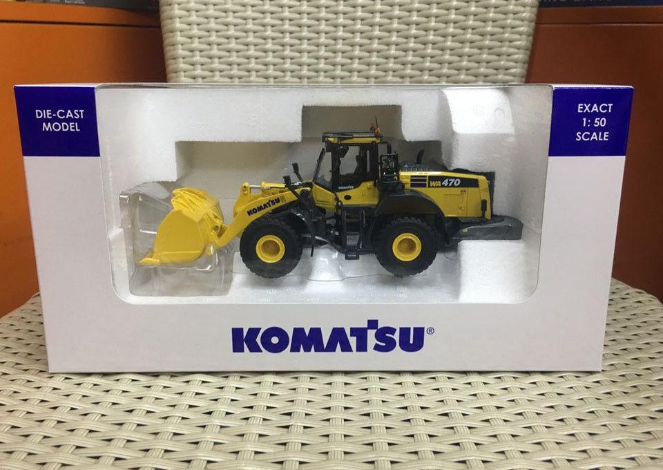 Universal Hobbies Komatsu WA 470-8 Wheel Loader 1:50 Scale Die-Cast Model UH8114 deepsky wa 1 25 8 мм