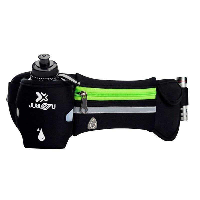Outdoor Women&Men Hydration Belt For Trail Running Hip Waist Pack Gym Fitness Jogging Waist Bag Water Bottle Sport Accessories