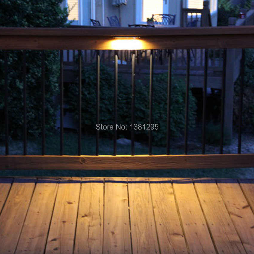 Ac Dc 12v Led Deck Step Retaining Wall Light Waterproof Outdoor