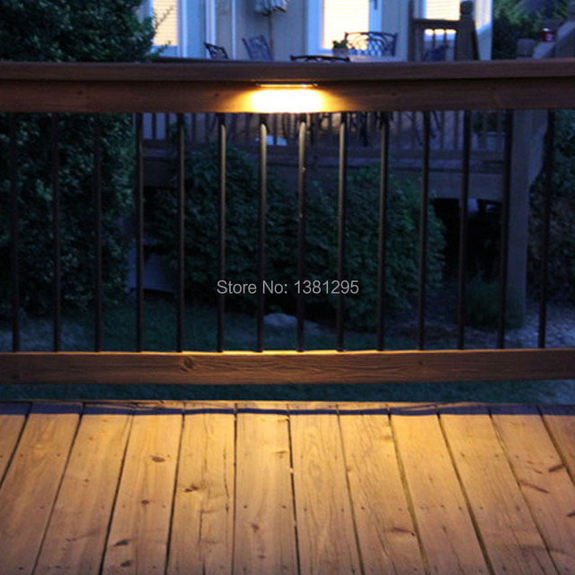 Ac Dc 12v Led Deck Step Retaining Wall Light Waterproof Outdoor Garden Stairs Railing Laminate