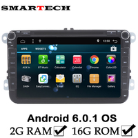 FreeShipping VW 2GB RAM Android 6 Car DVD Player For Volkswagen Polo Golf Mk6 5 Jetta