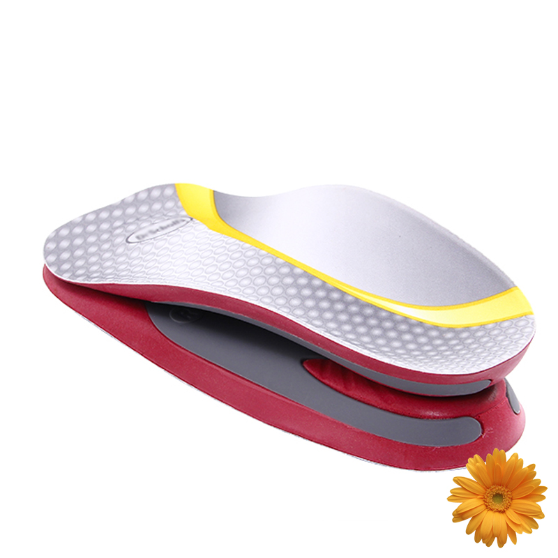 3/4 Arch Support Flat Feet Orthotic Insoles Scholl Foot Care Heel Pain Arthritis Orthopedic Insole Plantar Fasciitis Women Men ...