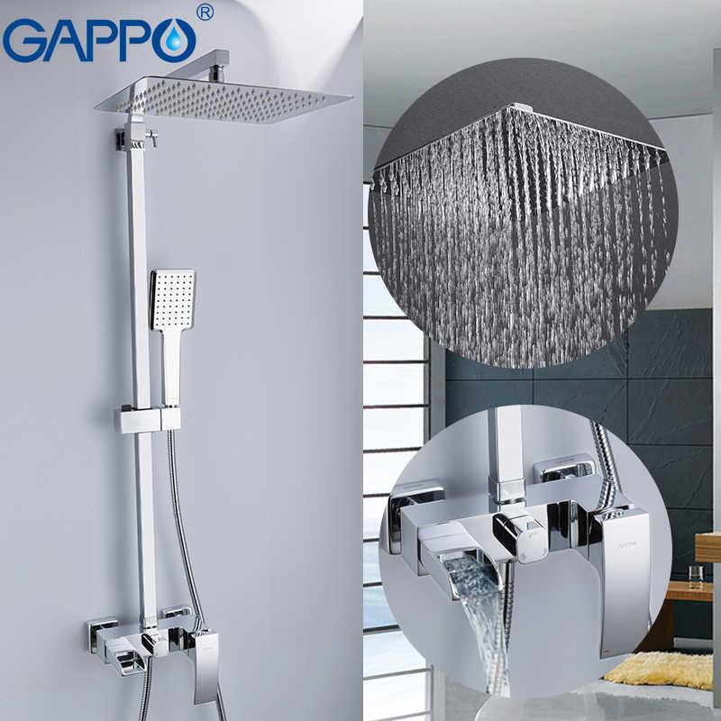 GAPPO смеситель для душа s ванная комната смеситель для душа для ванны смеситель для душа кран дождь наборы для душа смеситель для ванной в форме водопада смесители
