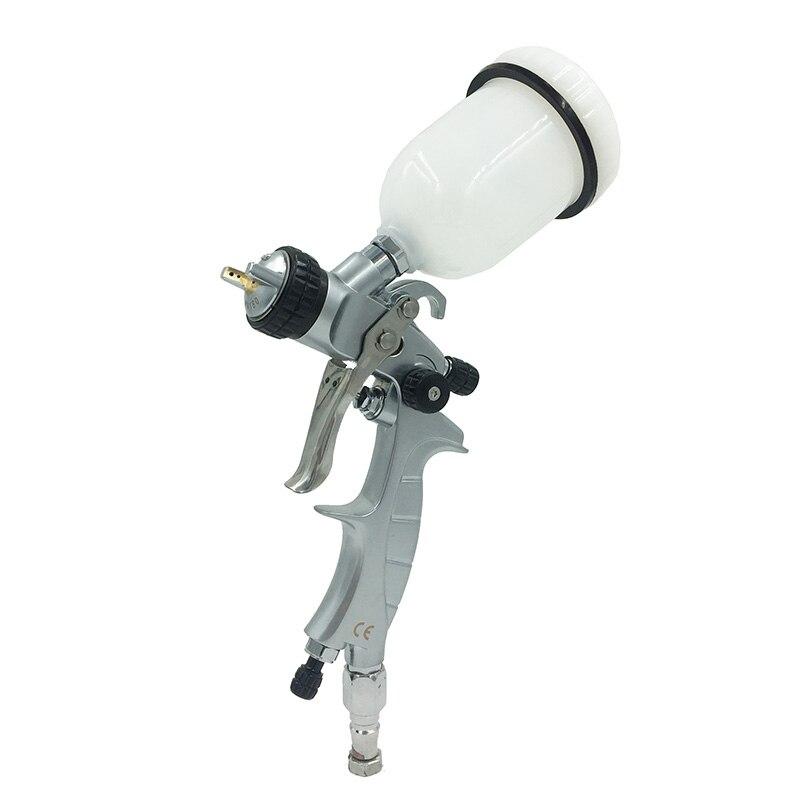 SAT1216M professional high quality mini airbrush spray guns nozzle 1.0 for car painting pneumatic machine tool