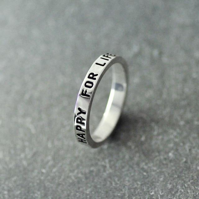 sitio de buena reputación 5c022 b0c85 € 13.58 |Anillo grabado Nombre, anillo de Sello, anillo nombre grabado  personalizado, anillo de Nombre personalizado, como el mejor regalo en  Anillos ...