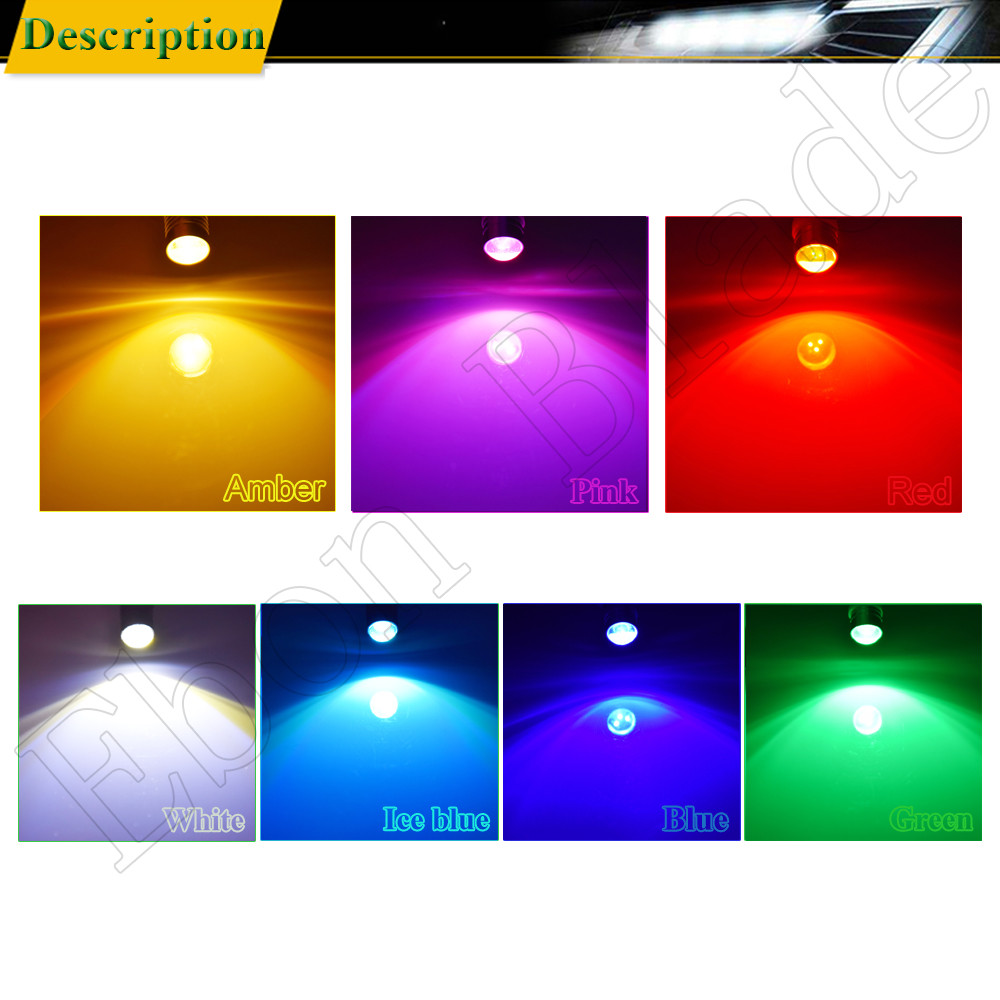Image 5 - 2X T10 194 168 W5W 5W5 LED Bulb COB 3W Car Interior Light Coche Voiture Auto Accessories White Yellow Amber Red Lamp Styling 12V-in Signal Lamp from Automobiles & Motorcycles