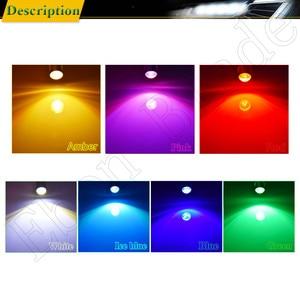 Image 5 - 2x t10 194 168 w5w 5w5 lâmpada led cob 3 w luz interior do carro coche voiture acessórios de automóvel branco amarelo âmbar vermelho estilo da lâmpada 12 v