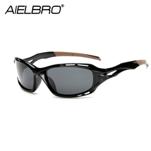 AIELBRO 2019 New Fashion Sports Polarized Sunglasses Men Women SunGlasses Outdoor Driving Sport Night Vision Eyewear UV400