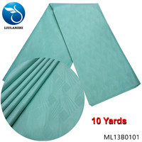 LIULANZHI 10 yards polyester fabric african bazin fabric for clothes polyester riche fabric ML13B01