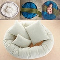4 Pcs Newborn Fotografia Anel Ciclo Travesseiro Forma Infantil Macio Da Foto Do Bebê Prop Hot
