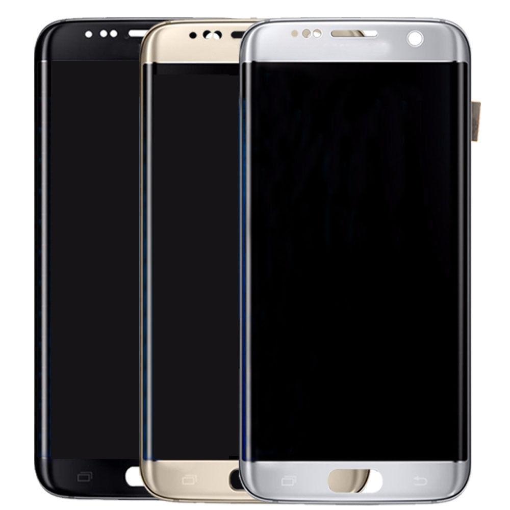 5.5 ''Super AMOLED Burn-Shadow affichage pour Samsung Galaxy S7 Edge G935 G935F G935A G935V LCD écran tactile numériseur assemblée