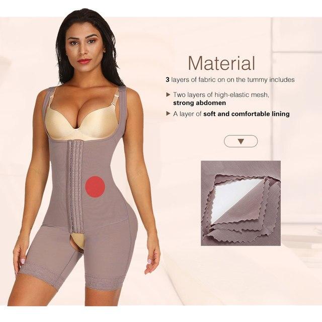 Lover Beauty Women Full Body Shaper Seamless Thigh Corset Tummy Control Underbust Slimming Corset Bodysuit Shapewear Butt Lifter 4