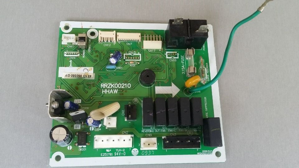 ФОТО RRZK00210 E251781 Air Conditioning Board Tested