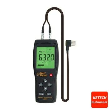 Handheld Ultrasonic Thickness Gauge For Steel Aluminium Plate AS850