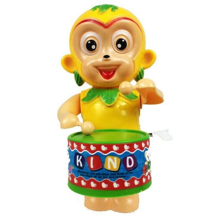 Bubnjevi Bubnjevi Majmun Sun Wukong Lanac Wind-up Igračke na satu Na Uniseksu Povucite Povratak