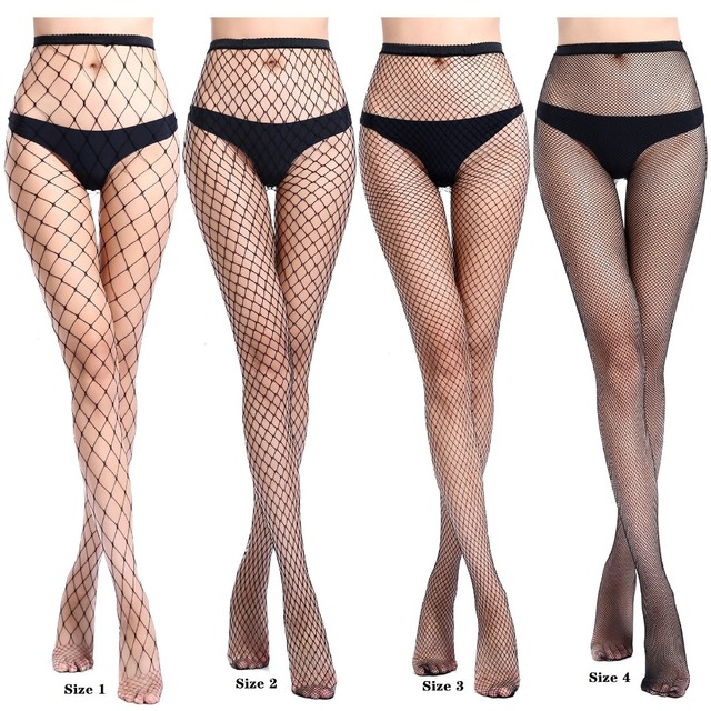 Fishnet Stockings High Waist Stockings