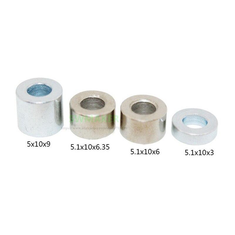 10pcs Openbuilds Aluminum Spacers 3mm/6mm/1/4''/6.35mm/7mm/8mm