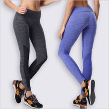 brand new high quality female slim  compression clothing  leggings pants fitness  excise pants  WA24