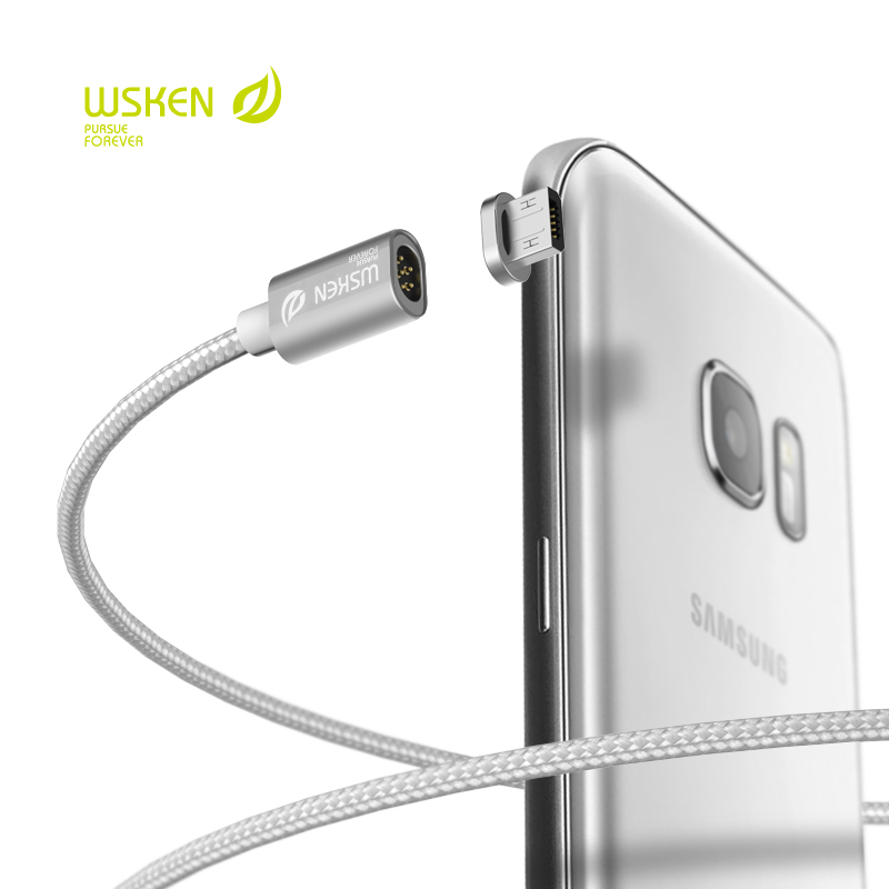Original WSKEN Mini 1 Magnetic cable Fast Charging Cable for Samsung xiaomi Meizu Huawei OPPO HTC