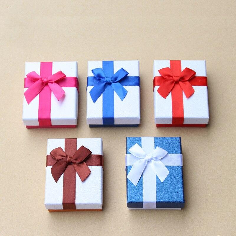 SEDmart Новый высокое качество Jewery устанавливает Дисплей Box кольца ожерелье коробка для хранения небольших Подарочная коробка для кольца серь... ...