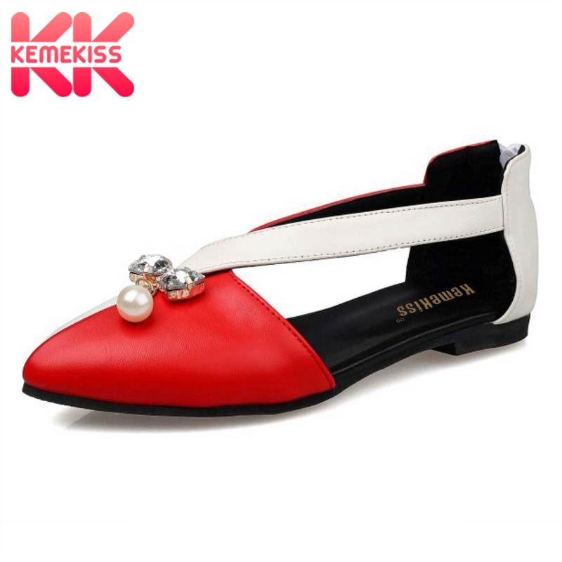 KemeKiss Size 33-43 Lady High Heel Sandals Women Bowknot Summer Shoes Patent Leather Sandals Vacation Office Sexy Footwear