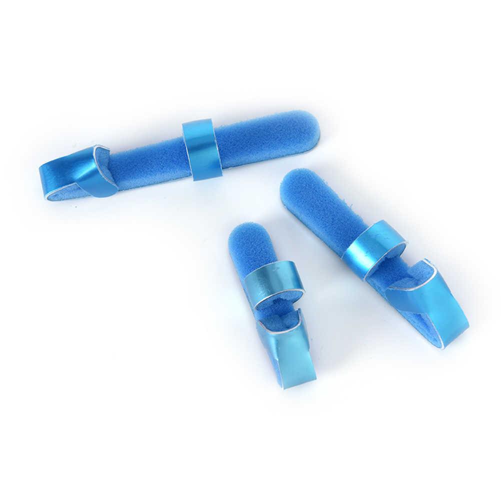 3 Размеры Алюминий сплав ортопедические пальцем шину палец фанеры совместных установлены реабилитации Спецодежда медицинская Оборудование пальцев Ортез ручной