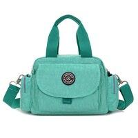 10 Colors NEW Design Women Nylon Handbag 2017 Popular Fashion Women Shoulder Messenger Bag For Female