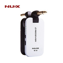 NUX B2 гитара Беспроводной Системы 2,4 ГГц Перезаряжаемые 4 Каналы литиевых Батарея анти помех Беспроводной аудио передатчик