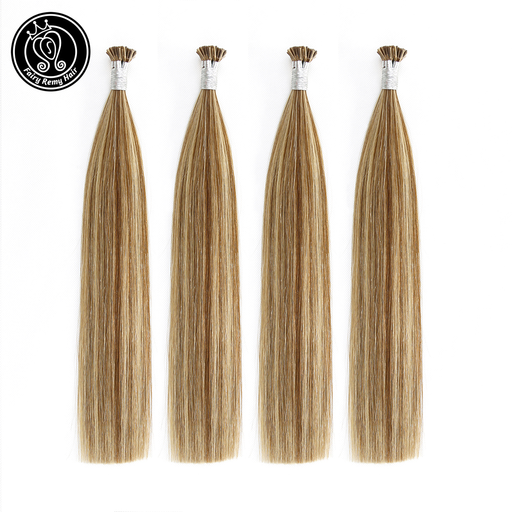 Fairy Remy Hair 0.8g/s 14 Inch Remy Human Prebonded Hair Keratin Tip On Capsules Double Drawn Indian Human Hair Extensions 40g