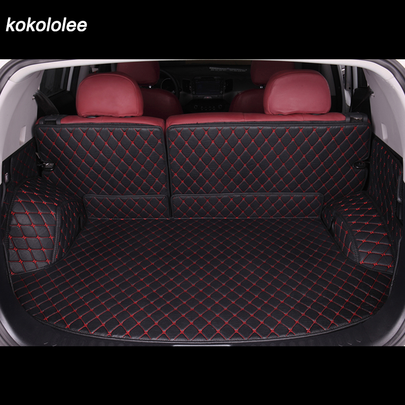 Custom car trunk mats for Volkswagen all model VW jetta BORA Sagitar Touareg Tiguan Variant magotan polo Passat Touran teramont