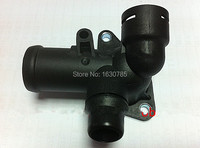 Engine Coolant Water Outlet Flange Pipe tee FOR AUDI A4 B6 A4 B7 1.8T 06B 121 133D