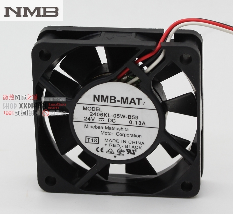 For NMB Two Ball Bearing 9CM 12v 0.28A 3610KL-04W-B49 case fan