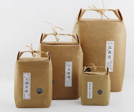 S Size 9 11 2 4 5cm Kraft Paper Bag Stand Gift Bags