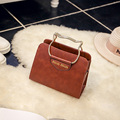 Free shipping, 2017 new woman fashion handbags, trend messenger bag, simple Korean version women bag, leisure solid color flap.