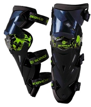 SCOYCO K12 Protective Kneepad Motorcycle Knee Pad  CE Protector Sports Scooter Motor-Racing Guards Safety Gears
