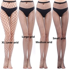 Women's Long Sexy Fishnet Stockings Fish Net Pantyhose Mesh Stockings Lingerie Skin Thigh High Stocking Women Hollow все цены