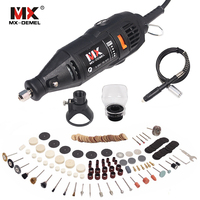 130W Electric Rotary Tool Variable Speed Multipro Drill Dremel Carving Pen Soft Shaft Accessories 162pcs Polishing