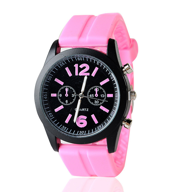 Large Newly Watches Girls Kids Trendy Dial Newest Silicona Watch Kids Sport Fashion Quartz Watches Clocks For Best Novelty Gifts