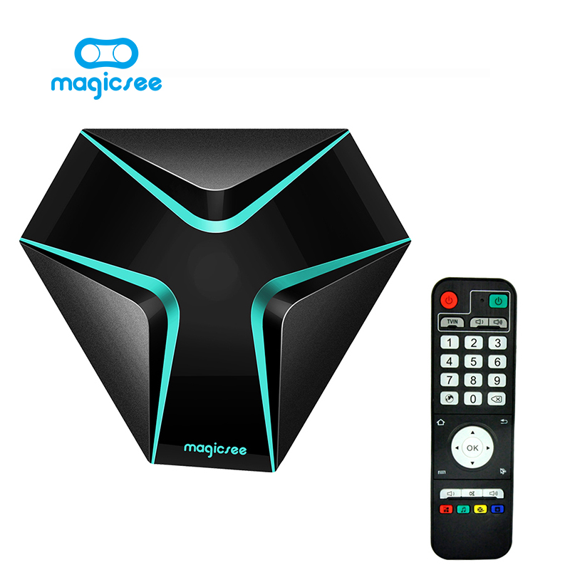 S905X Magicsee hierro Android 6.0 WiFi TV BOX Amlogic Quad Core 2G 16G Smart TV