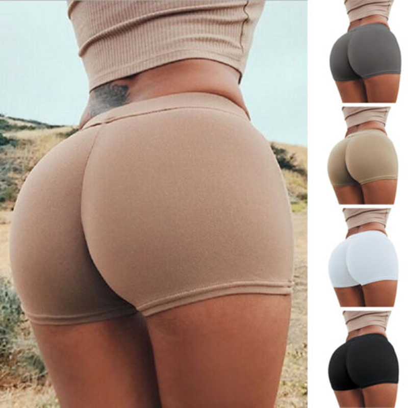 New Fashion Womens Summer   Shorts   Active High Waist Women Solid Slim   Short   Trousers Female Casual Skinny Hot   Shorts   Woman Clothes