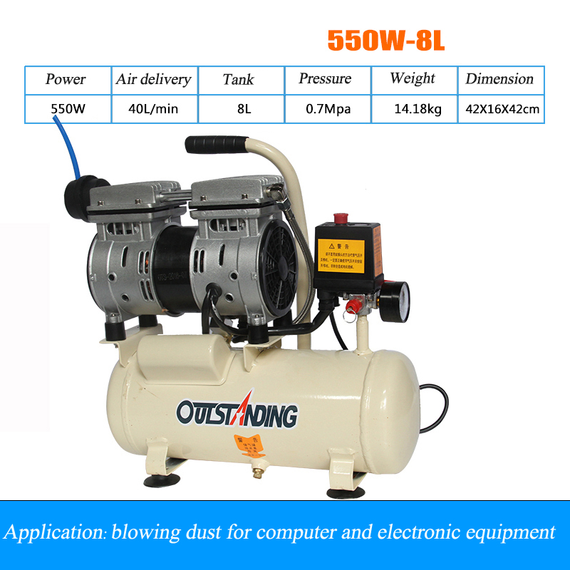 цена на mini air compressor small portable air compressor household electromagnetic air compressor 2018 new air compressor 220v