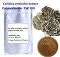 Envío gratis 200 g/lote Coriolus versicolor extracto de polvo de polisacárido PSK 30% mejor calidad