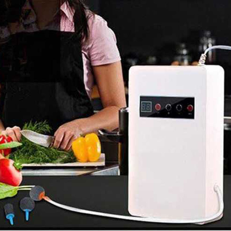 Ozone Generator ozone for water Air cleaner purifier Ozonator machine 220V 400mg/h Air Purifier Sterilizer Food Vegetables Fruit corona discharge household 220v ozone generator fq 301 ozone water treatment 200 300mg h china