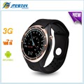Smart Watch I3 MTK6580 Android 5.1 3 Г Монитор Сердечного ритма Шагомер g-сенсор Google Maps Wifi GPS для Android iOS Телефон PK KW88