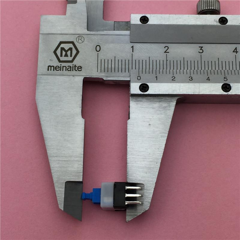 30 шт./лот площадь 7x7x12 мм 6 bulk мощность мини кнопка самоблокирующимся исключает g64 мультиметр исключает бесплатная доставка bulk г